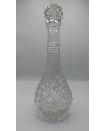 DECORAT XXL GLASS DECANTER 'CORFOU' 39.5h'