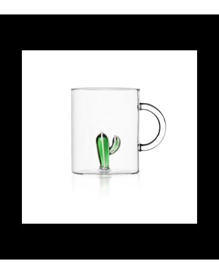 DESERT PLANTS MUG GREEN CACTUS