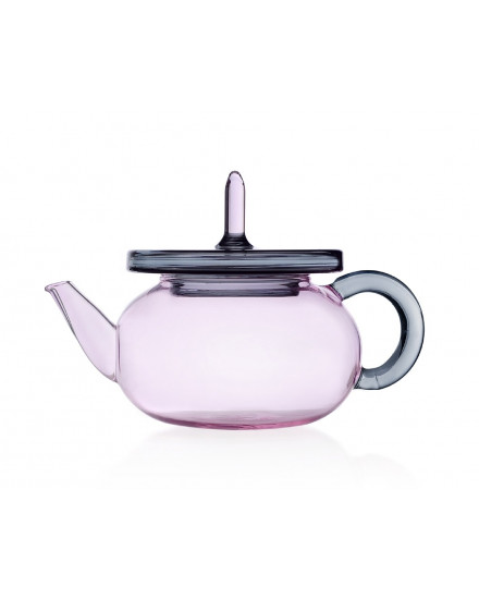 MERLINO TEAPOT PINK/GREY