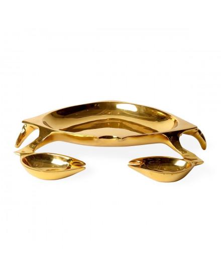 Jonathan Adler Brass Crab Bowl