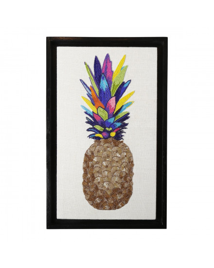 Jonathan Adler Pineapple Beaded Wall Art